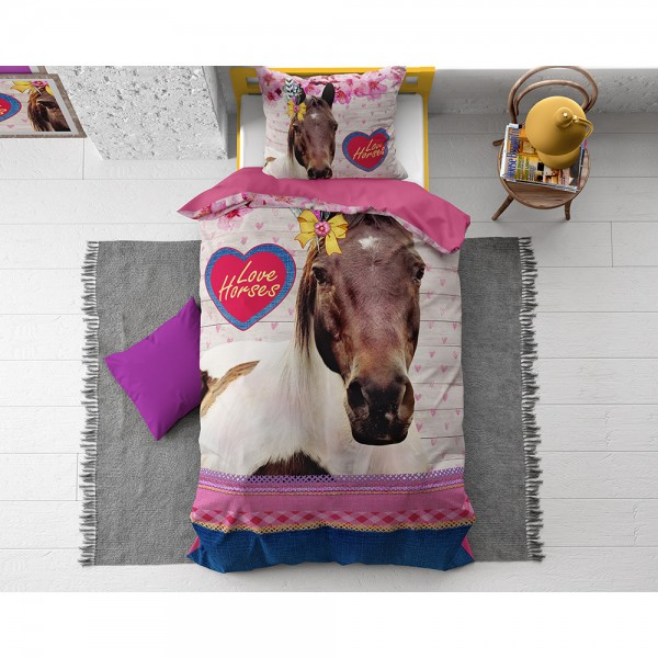 .LOVE HORSE PINK